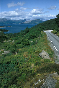 @RobAng 1992 - Norway by bicycle - South & Westcoast