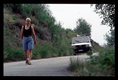 Tessin mit Panda und Velo, Aug 94