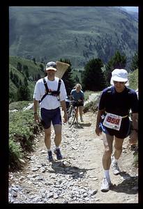 © RobAng 1999, Velotour Filisur - Bergün - Keschhütte -  Val Susauna