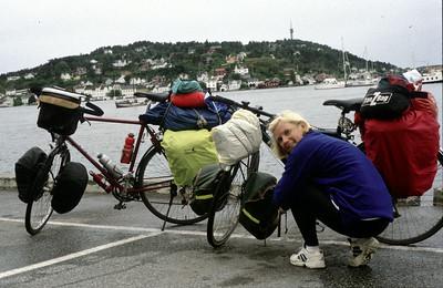 Di 16.6.98, Etappe1: Lillesand - Lyngor/Gjeving