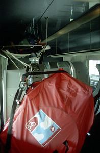 Zug nach Hamburg, Auftakt Velotour Norwegen