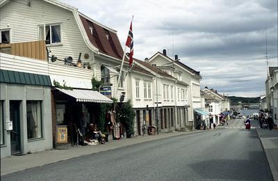 Risör - die weisse Stadt am Skagerrak (N). Etappe 3 Gjeving-Lovistad, 94km