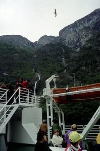 Ferry Gudvangen-Karpanger (N). Etappe 10, Do 25.6.98: Voss - Gaupne, 91km