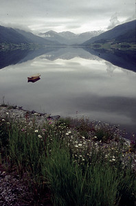 Rallarvegen - Hardangervidda (N). Etappe 9, Mi 24.6.98: Finse - Voss, 83km