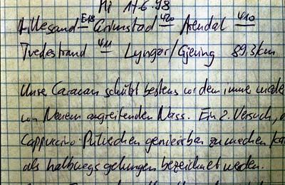 Etappe 4: Kregerö-Ulefoss, 102km
