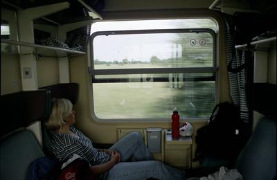 Zug nach Hirtshals