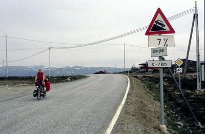 Etappe 6, So 21.6.98:  Kongsberg - Torsevatn, 128km