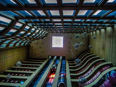 Shot taken inside the hotel in Quayaquil, Ecuador.