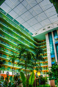 Shot taken inside the hotel in Miami USA.
