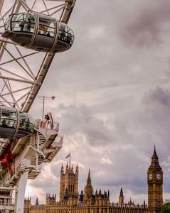 Big Ben and Parliament Building.
