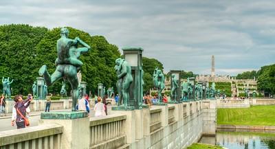 Vigeland Sculpture ParkOver 200  of Gustav Vigeland depicting the complete human cycle.
