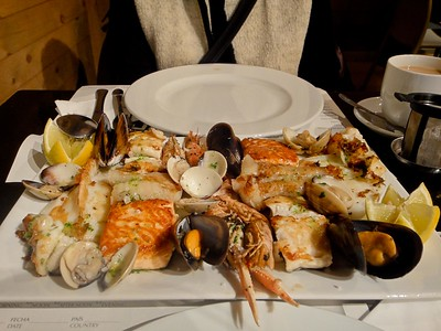 This restaurent was actually in Barcelona. The seafood platter was delicious, so delicious that we had to go back the next day and ordered the same thing again.