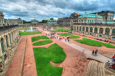 The Zwinger, Dresden, Germany,  2014