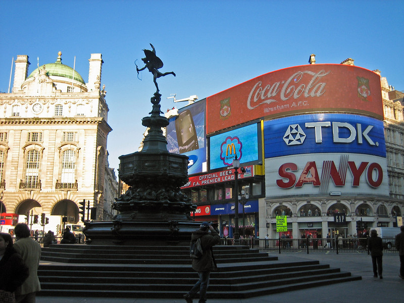 Piccadilly Circus by Day