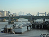 Southwark Bridge and Canary Wharf