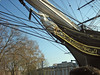 Bow of the Cutty Sark