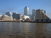 Downriver from Canary Wharf