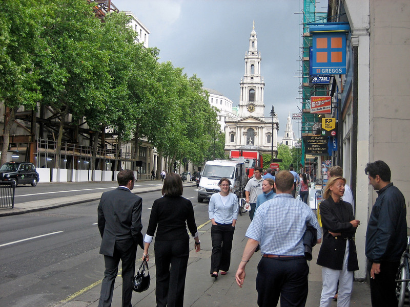 Churches in the Strand
