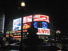 Piccadilly Circus after Dark
