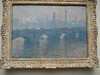 Monet Waterloo Bridge Gray Day