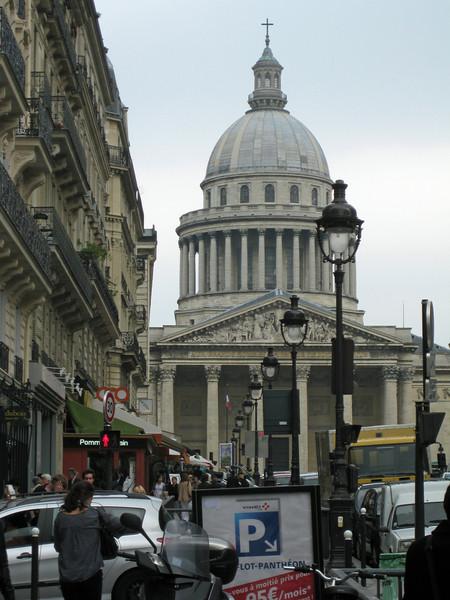 View toward the Pantheon