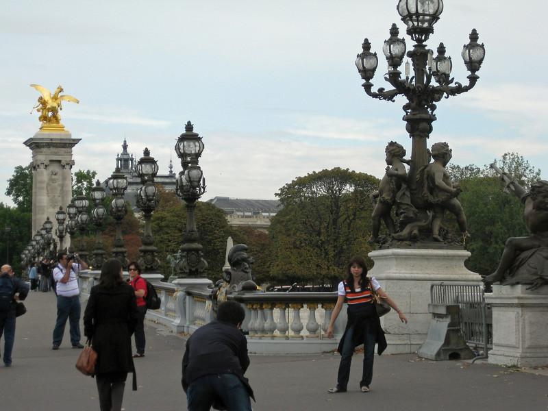 View of Pont Alexandre iii