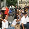 Massage on Pont St Louis 2009-09-20_16-02-51