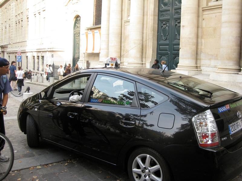 Paris 'Green' Taxi