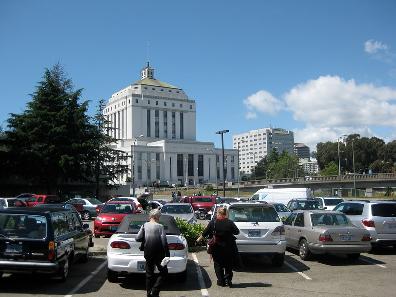 Alameda Courthouse from Kaiser CC