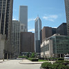 Aon Center and 2 Prudential Plaza