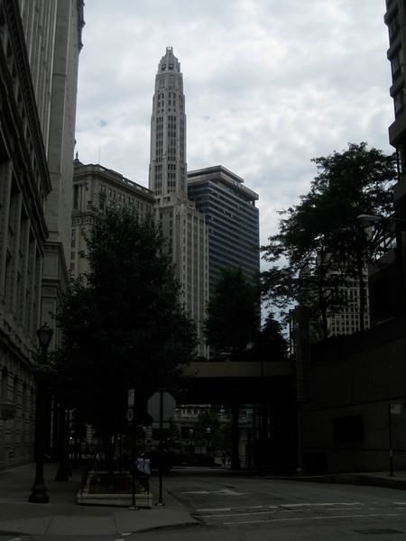 Mather Tower from Rush Street