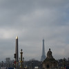 Place de la Concorde and Tour Eiffel