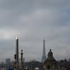 Place de la Concorde and Tour Eiffel