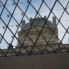 Louvre from inside the pyramid