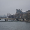 Downstream from Pont des Arts
