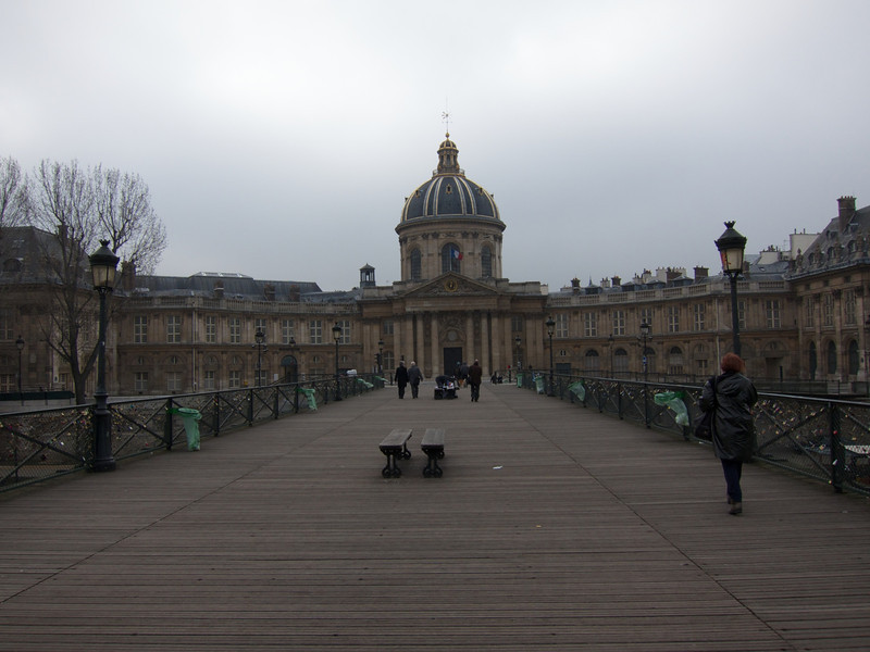 Academie de France from Pont des Arts
