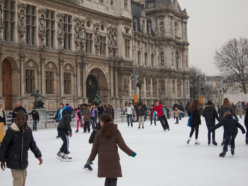 Ice Rink at the Hotel de Ville