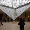 Inverted Pyramid in the Louvre Mall