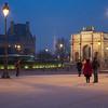 Louvre, Tour Eiffel, and Arc du Carrousel