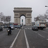 Arc de Triomphe from the Champ Elysee