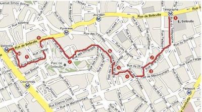 Paris 2011 Belleville Walking Tour