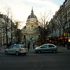 Sorbonne and Place de la Sorboone