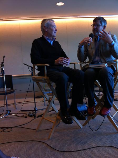 Sedge Thomson interviewing James Fallows<br /> San Francisco 2012-09-15 at 10-50-54