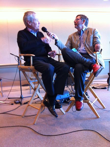 Sedge Thomson interviewing James Fallows<br /> San Francisco 2012-09-15 at 11-06-00