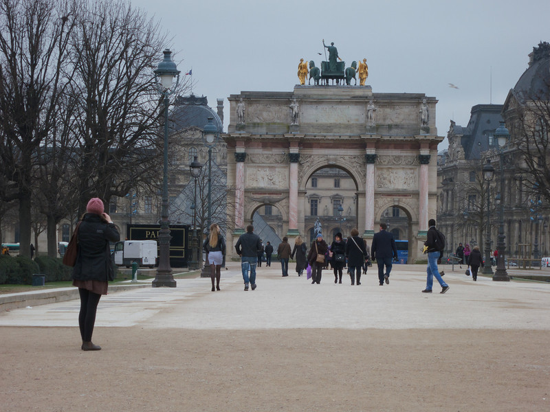 Arc du Carrousel<br /> Paris - 2013-01-09 at 11-27-17