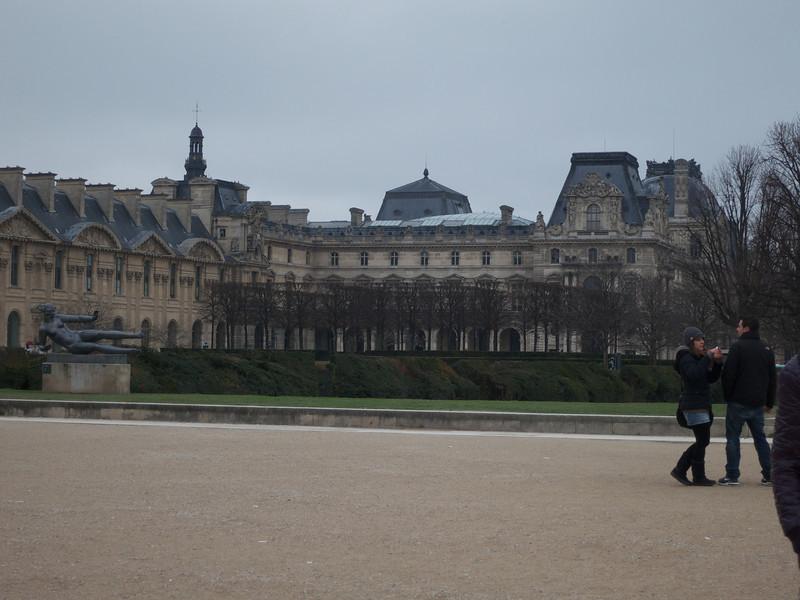 Louvre northwest section<br /> Paris - 2013-01-09 at 11-27-34
