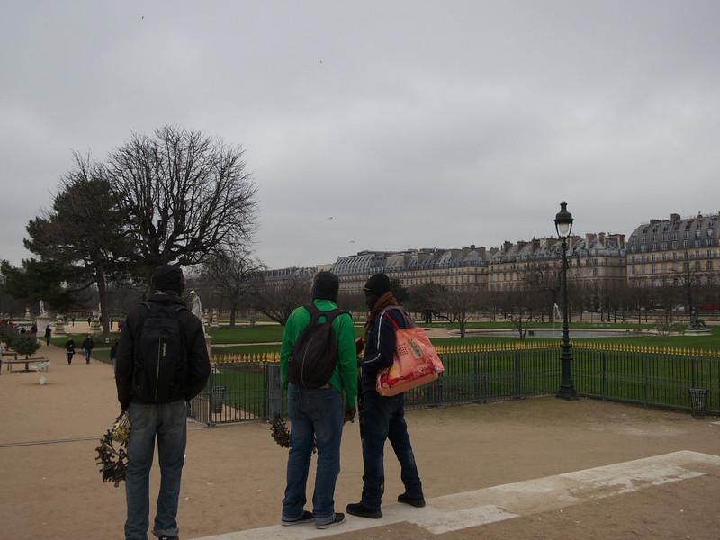 Jardin des Tuileries and the Rue de Rivoli<br /> Paris - 2013-01-09 at 11-26-20