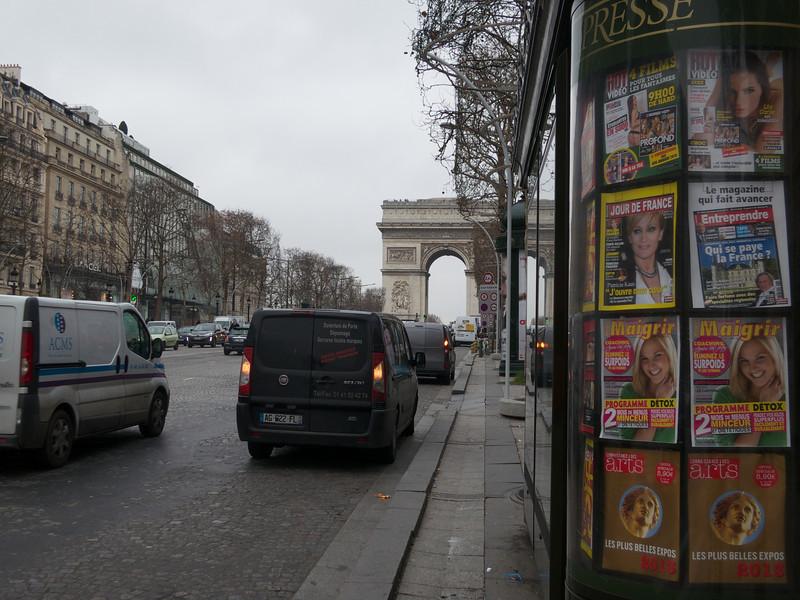 Arc de Triomphe<br /> Paris - 2013-01-09 at 11-44-26