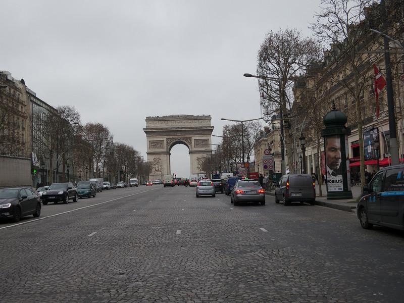 Arc de Triomphe<br /> Paris - 2013-01-09 at 11-45-18