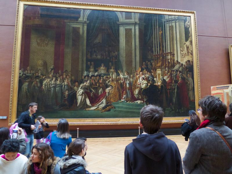 The Coronation of Napoleon -- David<br /> Paris - 2013-01-10 at 12-01-24